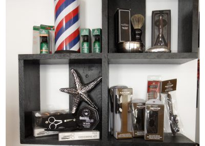 Waves 'N Shaves Product Display